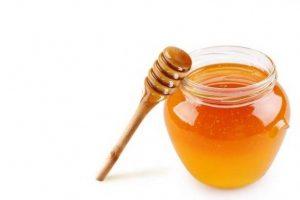 miere la borcan